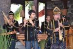 Dusun Keningau dengan alat muzik tradisional