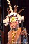 Pakaian Orang Ulu (close up)