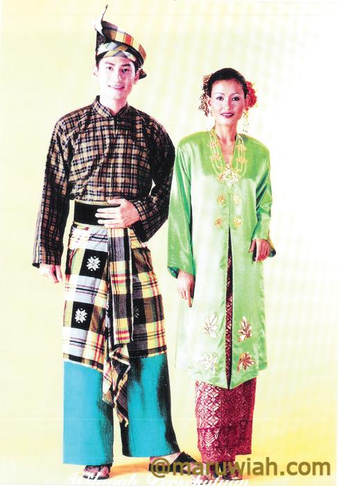 Baju Melayu kebiasaan