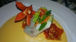 Popia basah versi Thai.